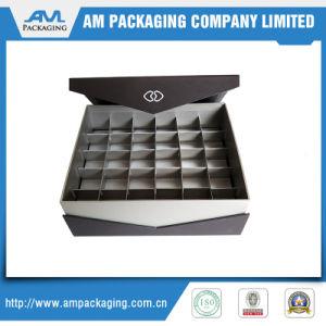 Caja de regalo plaza de la caja de embalaje de chocolate con Blister de plástico Insertar Cuadro dulce