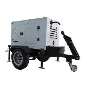 Ce verklaarde Stille Geluiddichte Diesel van het Type 10kw-2000kw van Aanhangwagen Mobiele Generator