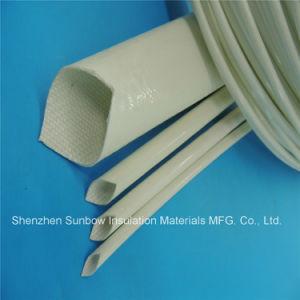 Het Silicone RubberGlasvezel Gevlechte Sleeving van de hoogspanning 7.0kv