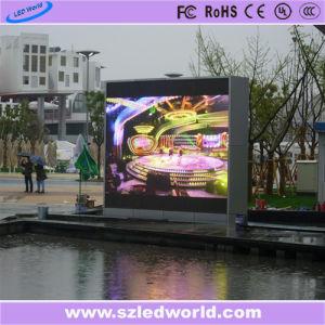 P6 LED SMD Fer Cabinet Affichage sur le mur vidéo