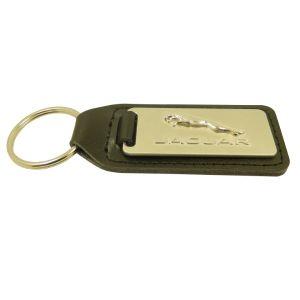 Cuoio promozionale Keychain del metallo del gancio di tasto di marchio dell'automobile dei regali