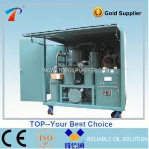 Transformador de alto vacío de purificación de aceite de máquina (ZYD-100)