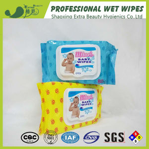 Wipes bagnati del bambino di OEM/ODM con piccolo ordine del pacchetto neutro accettabile