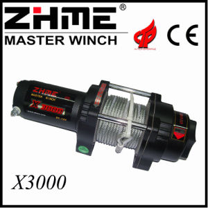 3000lbs 12V DC Malacate Eléctrico del Motor