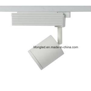 Luz ajustável da trilha do diodo emissor de luz do projector 15W Dimmable da loja para a loja da roupa