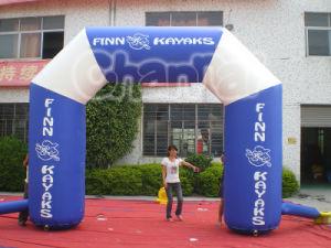Inflatablesの組合せカラー膨脹可能なアーチの広告