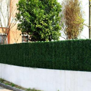 La Décoration de mur de clôture de jardin Haie artificielle –La ...