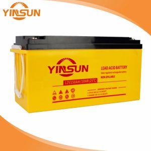 12V 140Ah batería solar para el sistema de Energía Solar