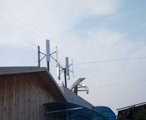 500W 1kw 2kw 3kw 5kw Turbine van de Wind van de Generator van de Energie van de Wind van Maglev de Verticale met PV het Poly MonoZonnepaneel van het Zonnepaneel voor de Post van de Last/het Gebruik/het Landbouwbedrijf/het Bureau van het Huis