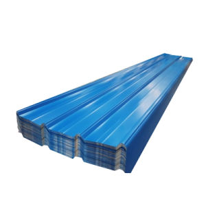 28gauge laminato a freddo lo strato ondulato ricoperto del tetto del metallo galvanizzato colore