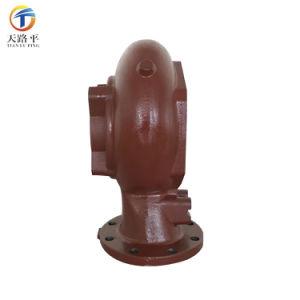 Arena personalizado de la fábrica de acero inoxidable fundición de hierro fundido /La bomba de agua /Bomba Bomba centrífuga de purín /Alojamiento con pintura y de mecanizado CNC