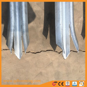 1800*2750palissade galvanisé clôtures métalliques
