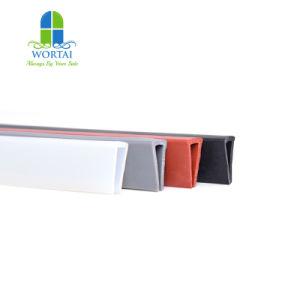 LED 지구 자동 접착 실리콘 지구를 위한 내밀린 U 모양 실리콘 관 물개