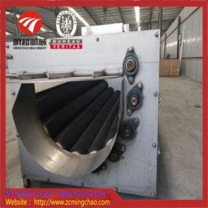 De automatische Machine van de Was en van de Schil van de Borstel van de Aardappel van de Wortel van de Gember Vegatables