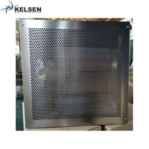 Revestimento a pó de ar na saída do HVAC de aço com filtro HEPA H14