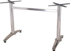 工場価格の現代屋外アルミニウムダイニングテーブルベース