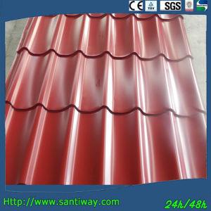 Effet de tuiles de toiture pour la construction de la feuille de panneau