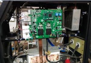 デジタルタッチ画面が付いている携帯用DSPの誘導加熱機械誘導電気加熱炉