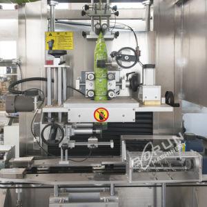 Het automatische Lichaam van de Fles en de Koker van GLB krimpen de Machine van de Etikettering