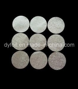 Tampas de alumínio simples de prata para a Copa do K Estanqueidade de café