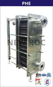 ジュースの低温殺菌のためのVt80板形熱交換器