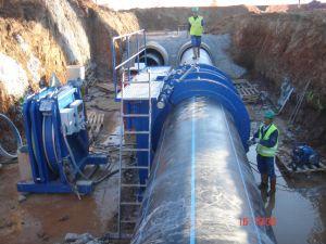 Tuyau de HDPE de Machine de soudage/Fusion de Tuyaux de raccordement du tuyau de la machine/machine/machine de raccordement du tuyau de HDPE