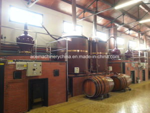 Germen-kupferner Bruchspiritus-Destillation-Spalte-Werbungs-Destillierapparat