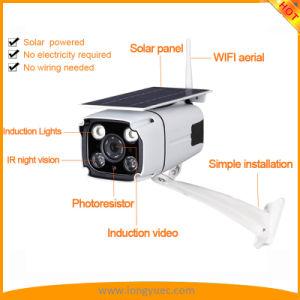 De waterdichte Camera van de Veiligheid van de Inductie van de ZonneMacht met Gesteund Netwerk WiFi