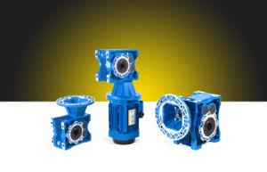 나선형 Hypoid 설치된 모터 Kw 0.75 HP075 Rpm1400