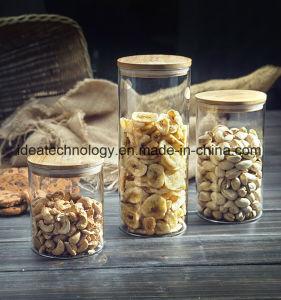 فلّين غطاء [كستومريزد] بالجملة مطبخ تخزين زجاجيّة مرطبان زجاجة