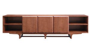 Nuevo diseño Intalian Soporte de TV modernos de madera