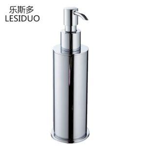 Закрепить на стене ванной мыло-водоочиститель