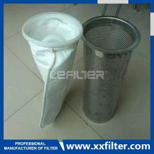 Предварительный фильтр из нержавеющей стали одной сумки в корпус фильтра для обращения
