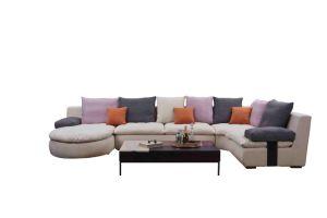 Canapé en tissu Accueil Mobilier Violet Tissu Tissu Tissu Matt technologie Living Room Interior Design