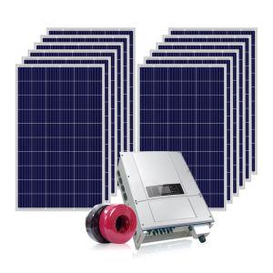 8kw de alta calidad del sistema de Energía Solar Fotovoltaica fuera de la Red del Sistema Solar
