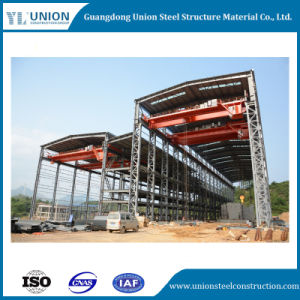 Bâtiment préfabriqué pour Industrial Structure en acier et un atelier d'entrepôt