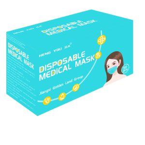 prix d'usine masque médicaux jetables avec contour
