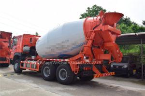 Chengli faibles prix de la 10cbm 12cbm 14cbm Bétonnière Chariot de transport de ciment de tambour