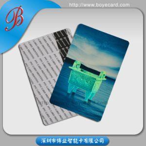 PVC Cr80 Carte de membre VIP en plastique standard pour le supermarché