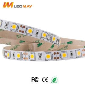 5050 barra chiara verde impermeabile della flessione LED con la colla di Droppinng