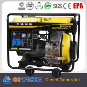 China Made Portable Diesel Generator From 1kw aan 8kw