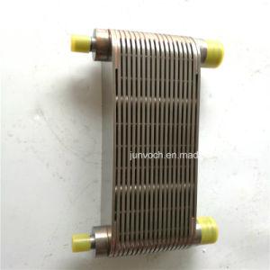 K38 K50エンジンのためのCumminsのディーゼル機関の部品オイルクーラーのコア3635074