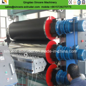 PE/PP/HDPE Vacuumforming 장 밀어남 선 또는 플라스틱 장 내미는 선
