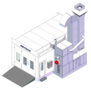 Berufsheißes Verkaufs-Cer-anerkannter Auto-Farbanstrich-Spray-Stand der fabrik-Yft-701