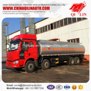 8X4 do caminhão-tanque de combustível com 12 rodas