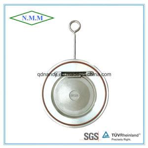 Ss316 assottigliano il tipo singola valvola di ritenuta del disco