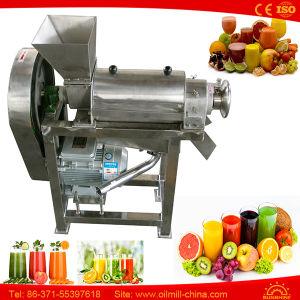 De oranje Trekker van Juicer van de Pers van de Gember van de Citroen van de Appel van de Machine Langzame Koude