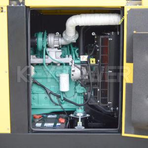 50Hz insonorisées silencieux électrique de gazole Groupe électrogène Diesel avec moteur Cummins