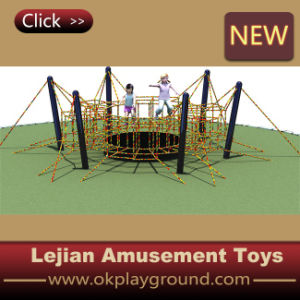 Rope clássico Kids Outdoor Playground Climbing Equipments com En1176 Certificate