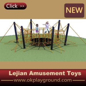 Corde classique pour les enfants d'équipements de terrain de jeu extérieur de l'escalade avec certificat FR1176
